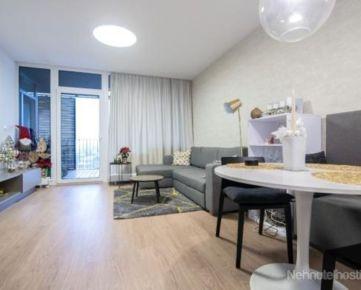 Prenájom nový priestranný 2 izbový byt, terasa 15 m2, zariadený, garáž, Staré Grunty, Karlova Ves