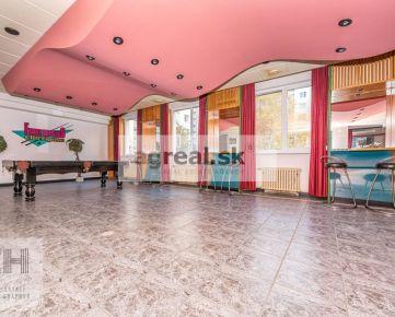 Nebytový priestor na bistro, klub, kaviareň 208 m2, polyfunkčná budova Pribišova