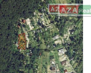 Záhrada s možnosťou výstavby v krásnom prostredí Rače v Knižkovej doline -1104 m2 je na predaj