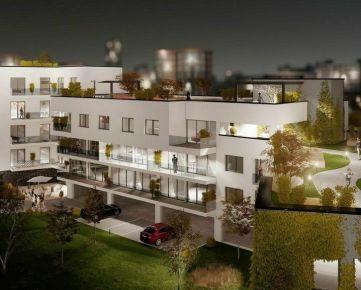 Predáme novostavbu 3+kk bytu, 88,7 m², Žilina - centrum, Ružičkov dom, R2 SK.