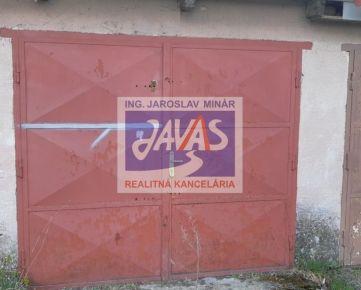 Murovaná garáž na predaj Nitra mesto