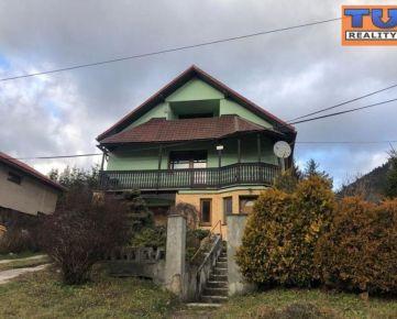 Rodinný dom Valaská Dubová s pozemkom o rozlohe 919m2. CENA: 97 000,00 EUR
