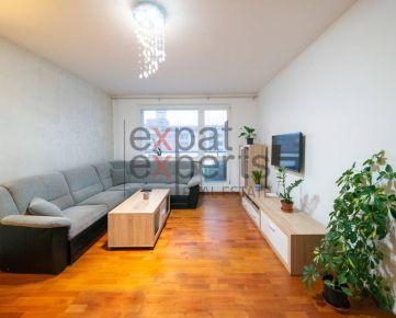 Veľmi pekný, zariadený 3 - izbový byt s lodžiou, Karlova Ves
