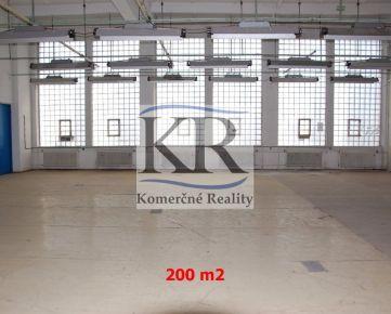 200 m2 - Sklad na PRENÁJOM, Trenčín, Za mostami