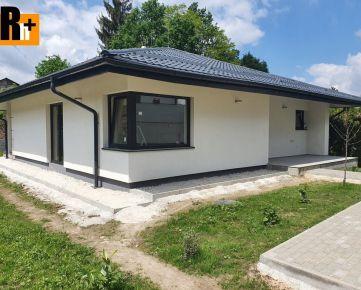 Na predaj Žilina Trnové 4-izbový bungalov rodinný dom - exkluzívne v Rh+