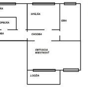 3-izb. byt 84m2, pôvodný stav