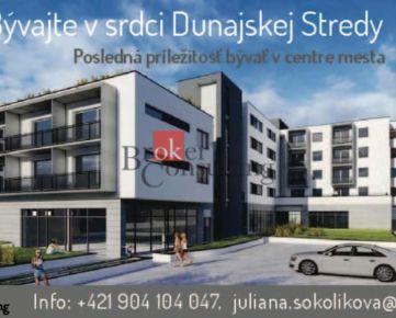MODERNÁ NOVOSTAVBA - nadštandardného bývania v centre Dunajskej Stredy