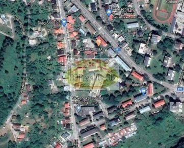 Rodinný dom s pozemkom 592 m2, blízko centra mesta B. Bystrica, vhodný aj na podnikateľské účely - Cena 260 000€