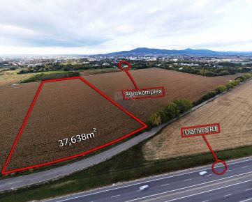 Predaj ornej pôdy s UPI v Nitre v k.ú. Chrenová