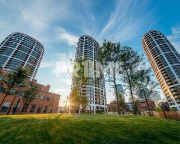 Bývajte ako prvý v 2i byte, NOVOSTAVBA, terasa, centrálny klíma, výhľad, SKY PARK, Továrenska ulica