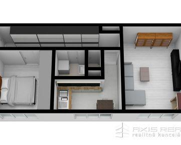 360° VIRTUÁLNA PREHLIADKA:: Predaj 2-izbový byt, BA IV. Dúbravka, ulica Nejedlého