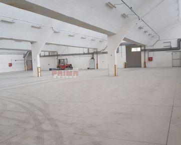 ID 2027  Prenájom: výrobná / skladová hala, 1500 m2