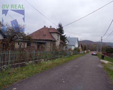 BV REAL Na predaj rodinný dom 2300 m2 Bystričany časť Chalmová 70164