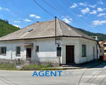 AGENT.SK Dom v širšom centre Krásna nad Kysucou