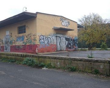 Slovenská Ľupča sklad pri železničnej stanici s priľahlou plochou