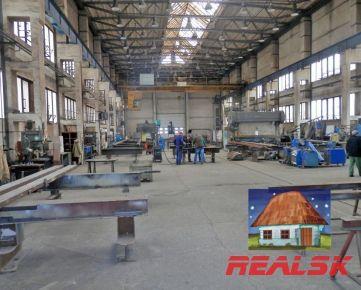 Výrobný objekt s administratívou v Nitre na prenájom