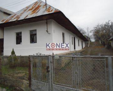 KONEX REALITY – SUPER PONUKA! Rodinný dom v obci Hlivištia, 5 km od Sobraniec