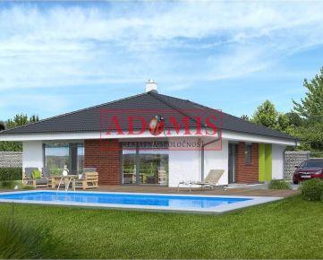 ADOMIS - ponúkame na predaj - novostavba - pekný 5-izbový bungalov, Rozhanovce