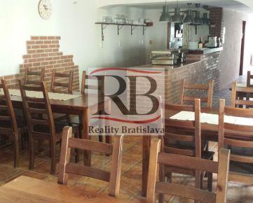 Priestory pre reštauráciu, kancelárie, obchod