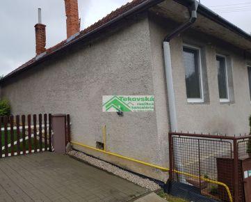 Znížená cena - Rod. dom - chalupa v obci Hosťovce