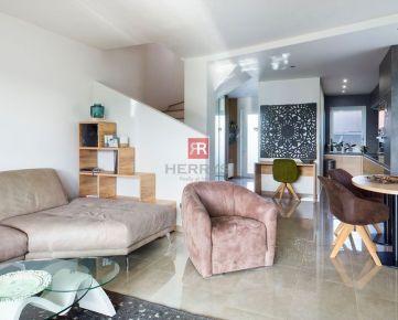 HERRYS - Na prenájom kompletne zariadený dvojpodlažný 3 izbový rodinný dom so záhradou v Šamoríne