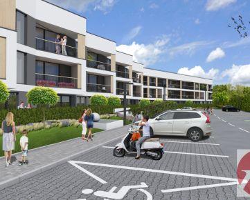 REZIDENCIA KOPÁNKA komorné bývanie v susedstve rodinných domov - byt č.I3
