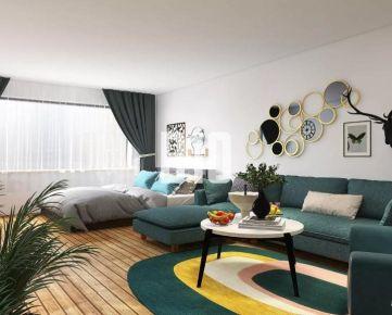 Štartovací - 1 izbový byt obklopený zeleňou v Bratislavskej mestskej časti Ružinov.