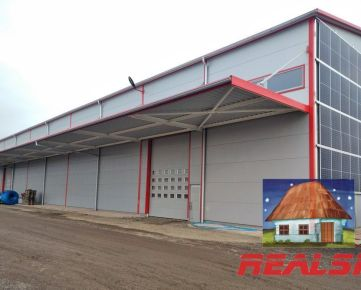 Hala pre výrobu a sklad v Nitre na prenájom (Možnosť prispôsobiť m2)