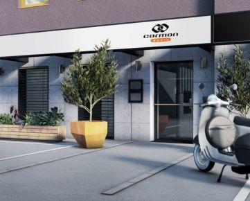PROJEKT VYŠEHRÁD B-F02 - slnečné obchodno kancelárske priestory s veľkým plus