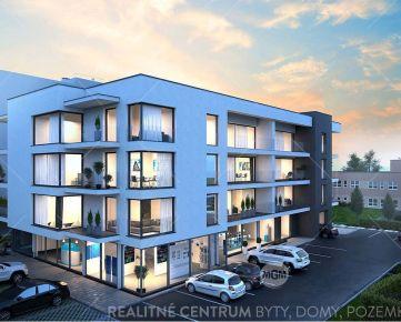 REZERVÁCIA (NP12) Predaj nebytových priestorov o výmere 81,26m2 v projekte RUDNAY RESIDENCE