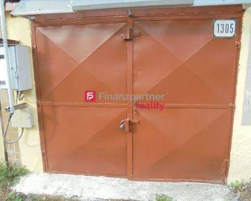 Na predaj priestranná garáž v meste Nitra