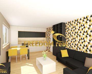 UŽ V PREDAJI !!! 3 izbové už od 103.000,- € s predzáhradkou alebo s balkónom