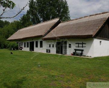 Prírodná rodinná usadlosť s 57 árovým pozemkom pri Gabčíkove