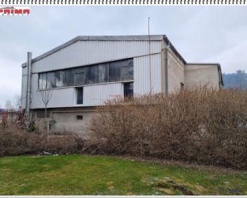 ID 2584  Predaj: skladový objekt  572 m2 + pozemok 1809 m2