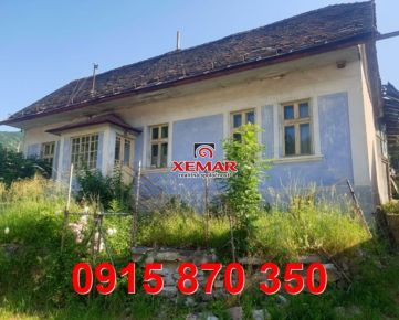 Na predaj rodinný dom v obci Riečka, Banská Bystrica