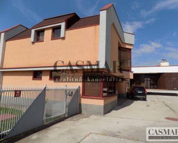Casmar RK ponúka na predaj výrobno-skladový objekt v Trnave
