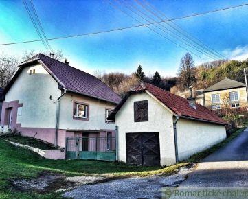 Zrekonštruovaný dom s garážou a záhradkou v pokojnej časti Hriňovej