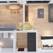 1-izb. byt 30m2, pôvodný stav