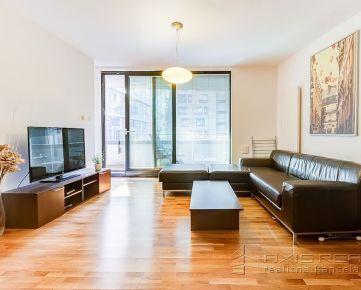 360° VIRTUÁLNA PREHLIADKA:: RIVER PARK: 2-izbový apartmán, LODŽIA, GARÁŽ, BA I. Staré Mesto