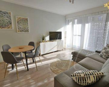 Zariadený 2i byt s balkónom v novostavbe na prenájom