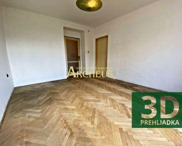 3D PREHLIADKA/ 2 IZBOVÝ BYT, 48 m2, PREŠOV, OBRANCOV MIERU