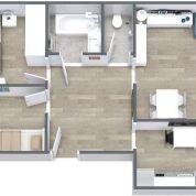 3-izb. byt 65m2, kompletná rekonštrukcia